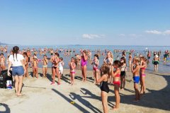 Mini disco a balatongyöröki strandon